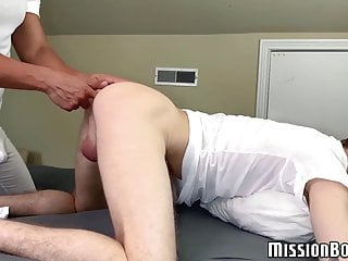 Mormon priest ass drilling cute gay and cums after mutual BJ
