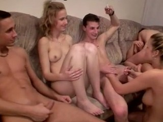 Unforgettable and perverted orgy sex party with naked Czech students