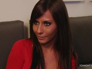 Beauty with impressively huge melons Madison Ivy nailed by an athlete