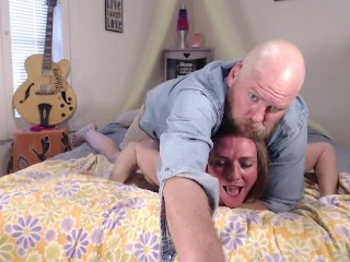Pregnant Blonde Milf Massive Screaming Orgasm And Creampie