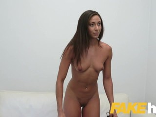 Fake Agent Hot desk fuck with tanned perfect ass euro babe