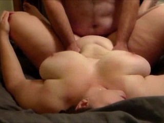 He fucks the BBW MILF he just met