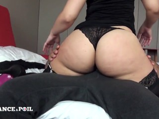 Chubby babe with a fantastic ass gets pounded